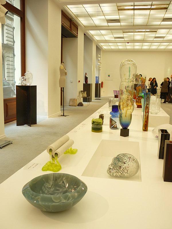 Výstava Křehká síla skla v ZIBA Muzeu moderního skla v Praze Foto: e-Newspeak