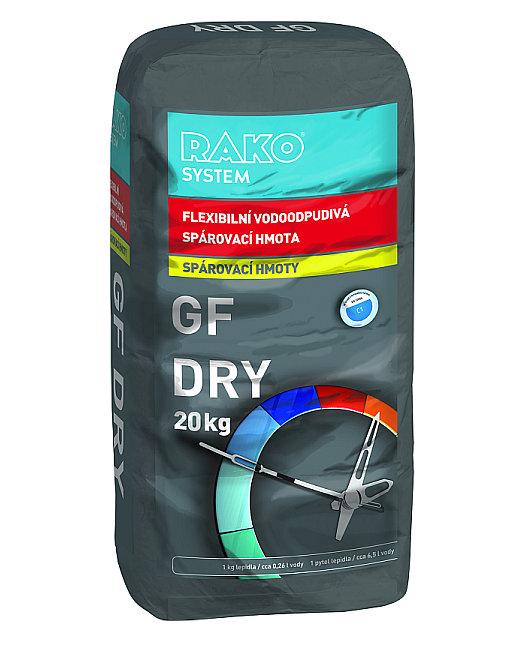 RAKO: GF DRY flexibilní vodoodpudivá spárovací hmota Foto: RAKO,Oficiální zdroj