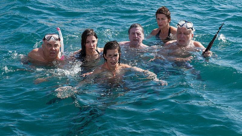 FFF: Mezi přáteli - Gérard Jugnot, Zabou Breitman, Mélanie Doutey, Daniel Auteuil, Isabelle Gélinas a François Berléand Foto: FFF, oficiální zdroj