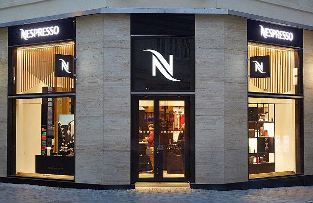 Nespresso Boutique v Brně Foto: Nespresso, oficiální zdroj