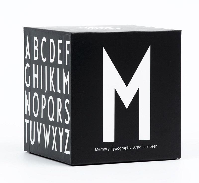 Pexeso Abeceda s písmeny od Arne Jacobsena, design Design Letters, cena 690 Kč Foto: Designville.cz, oficiální zdroj