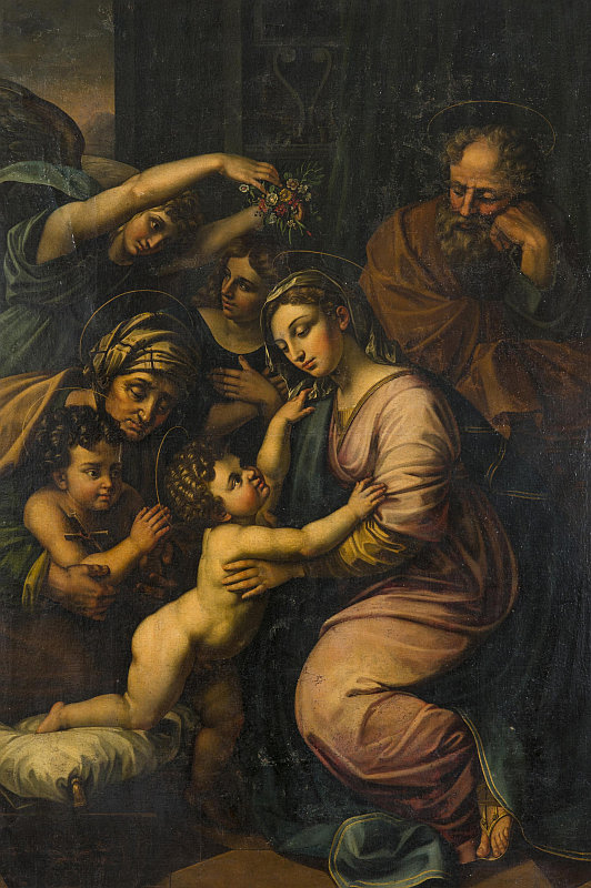 Aukce Dorothea: Rafael Santi - napodobitel, olej na plátně, 191,5 x 133,5 cm Foto: archiv Dorotheum