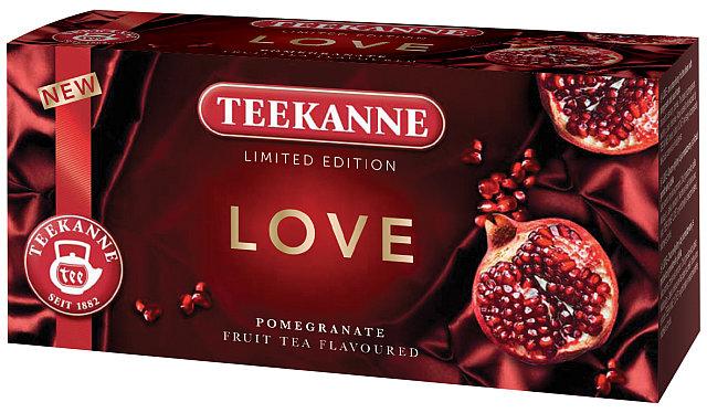 TEEKANNE LOVE: limitovaná odice ovocného čaje Foto: TEEKANNE, oficiální zdroj