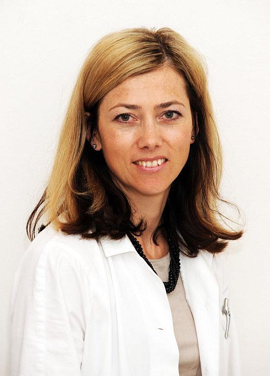 MUDr. Eva Jerhotová, oční lékařka kliniky DuoVize Foto: Guideline, oficiální zdroj