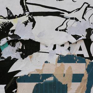 Praha ve strhaném plakátu 06