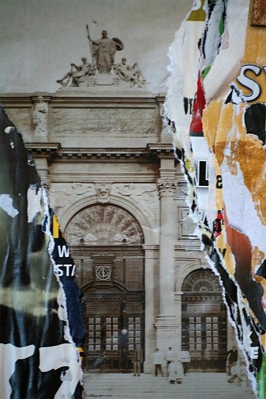 MHMP: Praha ve strhaném plakátu Foto: ©Jitka Kopejtková/MHMP, oficiální zdroj