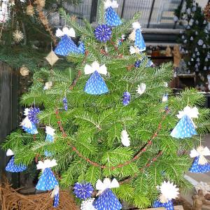 Vánoční výstava - ozdoby andělé