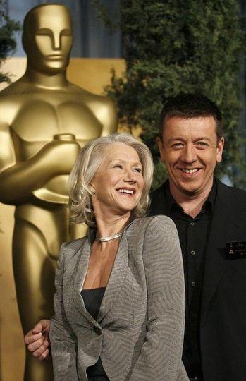 Helen Mirren a Peter Morgan na předávání Oscarů za film Královna Foto: MFF Praha – Febiofest, oficiální zdroj