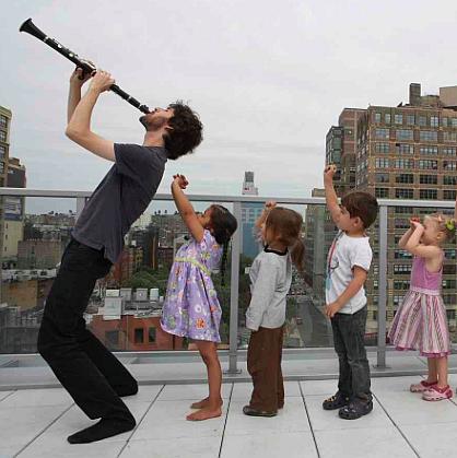 Hudební workshopy s držitelem ceny Grammy Oranem Etkinem Foto: MLJ, oficiální zdroj