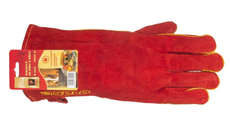 SOLO Rukavice ke krbu a grilu  Foto: SOLO, oficiální zdroj