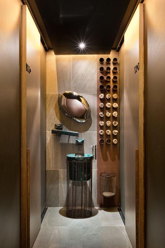 Restaurace EAST v Kyjevě - detail toalety Foto: Andrey Avdeenko/RAKO, oficiální zdroj