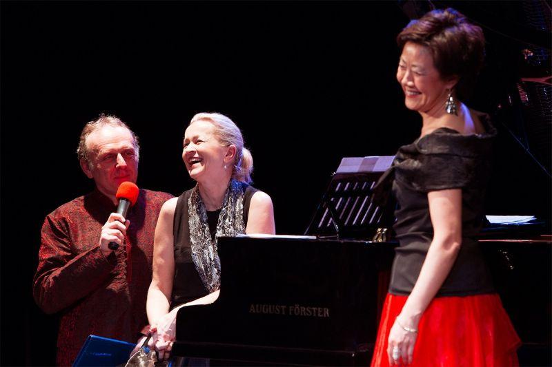 Jaroslav Dušek a Feng-yűn Song Foto: Songfest.cz, oficiální zdroj