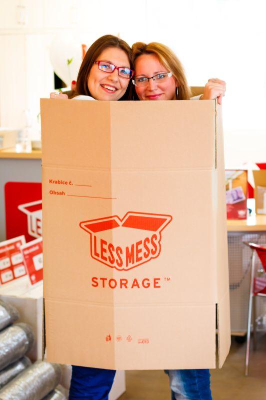 Kam vystěhovat partnera? Do veřejných skladovacích prostor Foto: Less Mess Storage