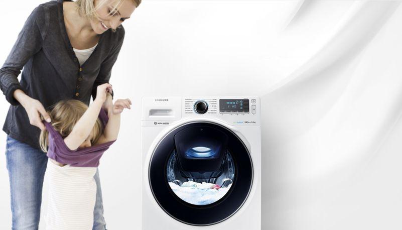 Samsung WW7500 AddWash - přidání prádla v průběhu pracího cyklu Foto: Samsung, oficiální zdroj