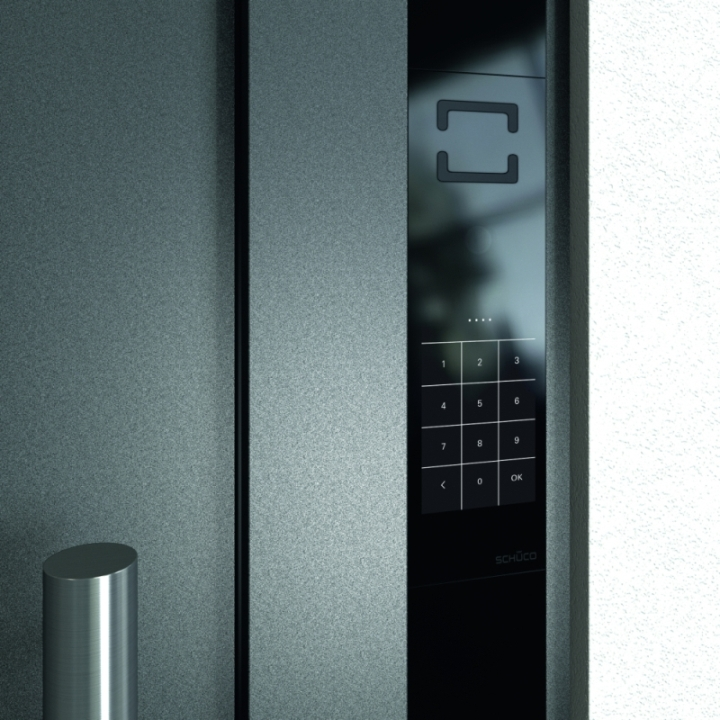 Schuco DCS Touch Display Foto: Schüco, oficiální zdroj