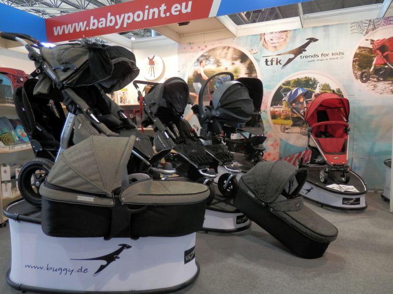 Stánek firmy Babypoint na veletrhu PRODÍTĚ 2015 Foto: Babypoint, oficiální zdroj