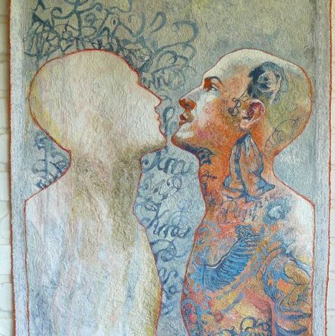 PPM 2016: Kathryn Harmer Fox - A Life Lived in Ink, 127,5 x 75,5 cm Foto: PPM, oficiální zdroj