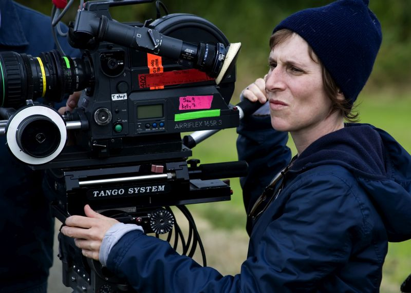 Kelly Reichardt při natáčení filmu Wendy a Lucy Foto: Comeback Company, oficiální zdroj