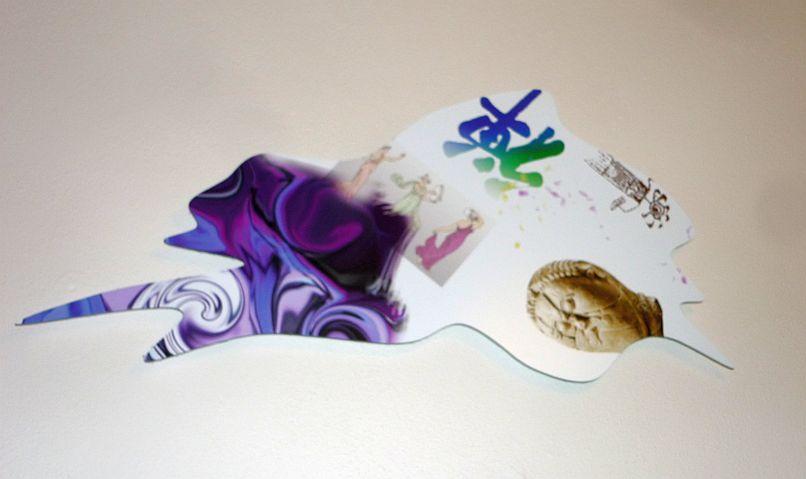 Matyáš Chochola - cyklus Digitální kaňky, keramika Foto: e-Newspeak