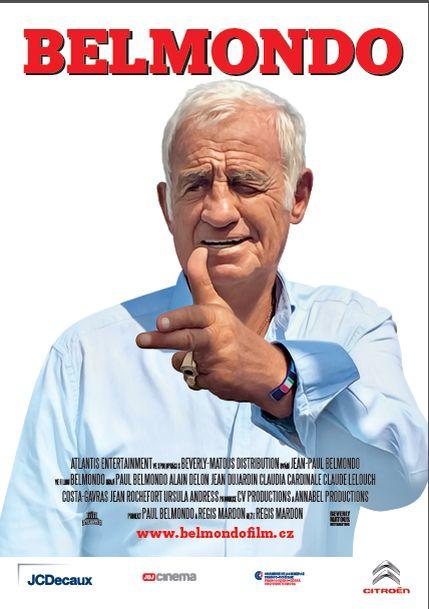 Belmondo plakát Oficiální zdroj: www.belmondofilm.cz