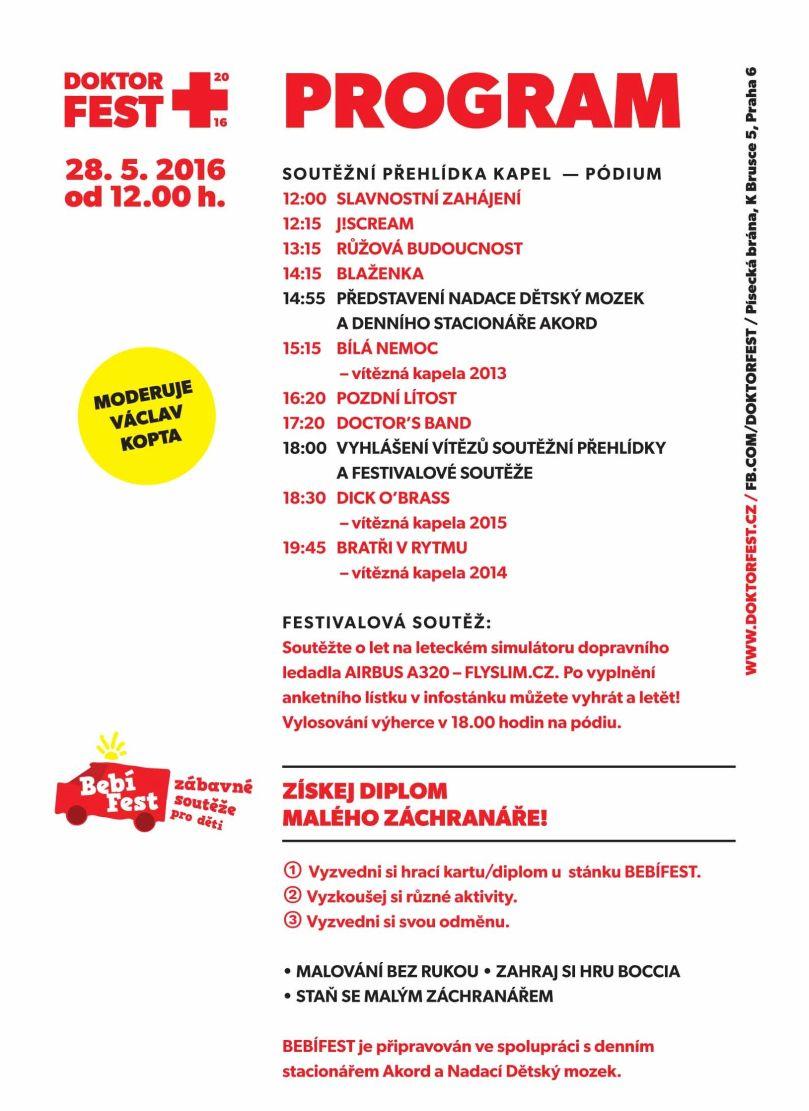 DOKTORFEST: program Foto: Doktorfest, oficiální zdroj