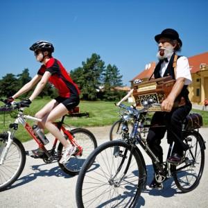 Hudba na kole, v Lednici Foto: Concentus Moraviae, oficiální zdroj