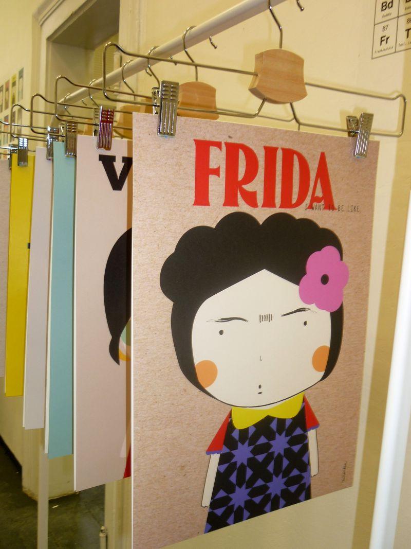 PDW: Niñasilla & yana: Frida Kahlo Foto: e-Newspeak