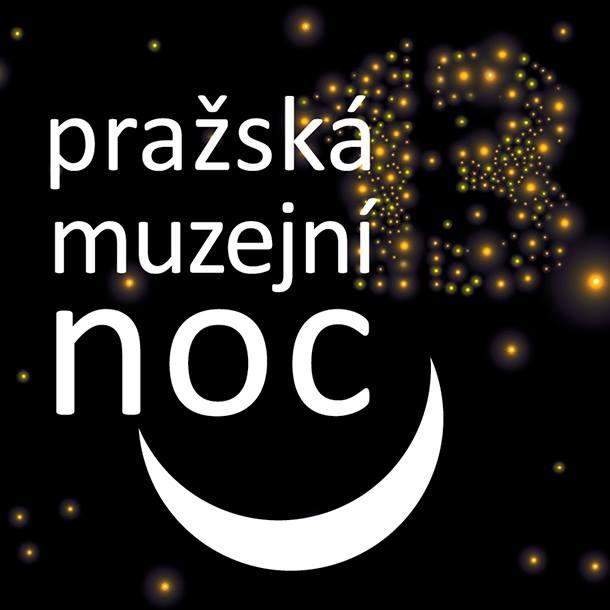 Logo Pražské muzejní noci 2016 Oficiální zdroj: PMN