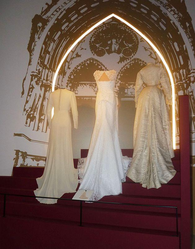 RETRO Národní muzeum:  Svatební šaty Foto: e-Newspeak