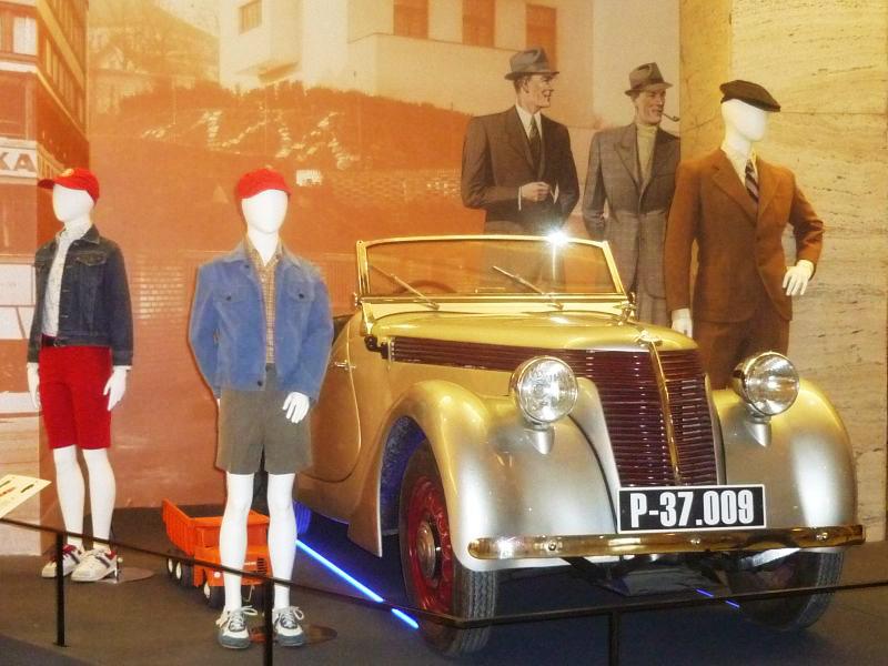 RETRO Národní muzeum:  Automobil JAWA Minor kabriolet Foto: e-Newspeak
