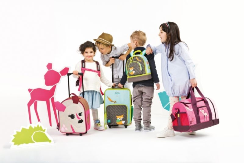 Kolekce dětských zavazadel německé značky Lässig Foto: Lässig, oficiální zdroj