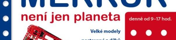 Výstava Merkur - plakát Oficiální zdroj: Chvalský zámek