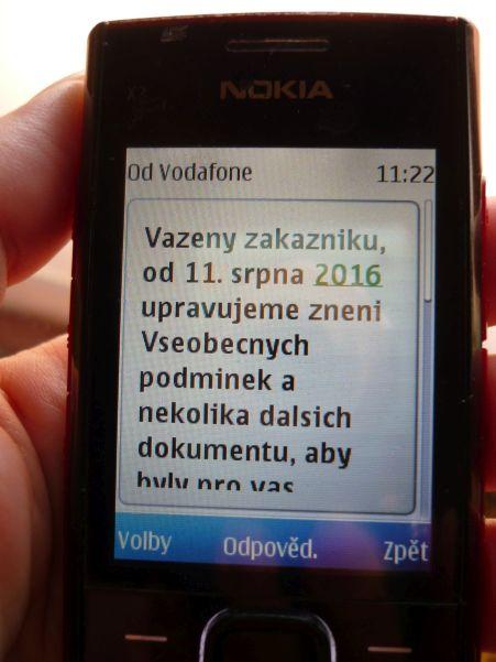 Mobil, změna všeobecných podmínek Foto: e-Newspeak