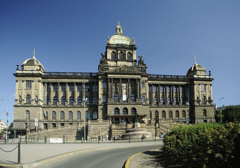 Historická budova Národního muzea Foto: Ota Palan/NM, oficiální zdroj