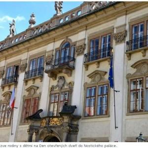 NM - Den otevřených dveří Nostického paláce Foto: Národní muzeum, oficiální zdroj