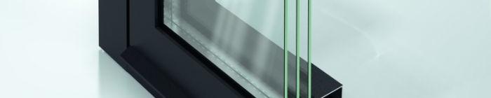 Povrch SmartActive na hliníkových oknech Foto: Schüco, oficiální zdroj Schüc
