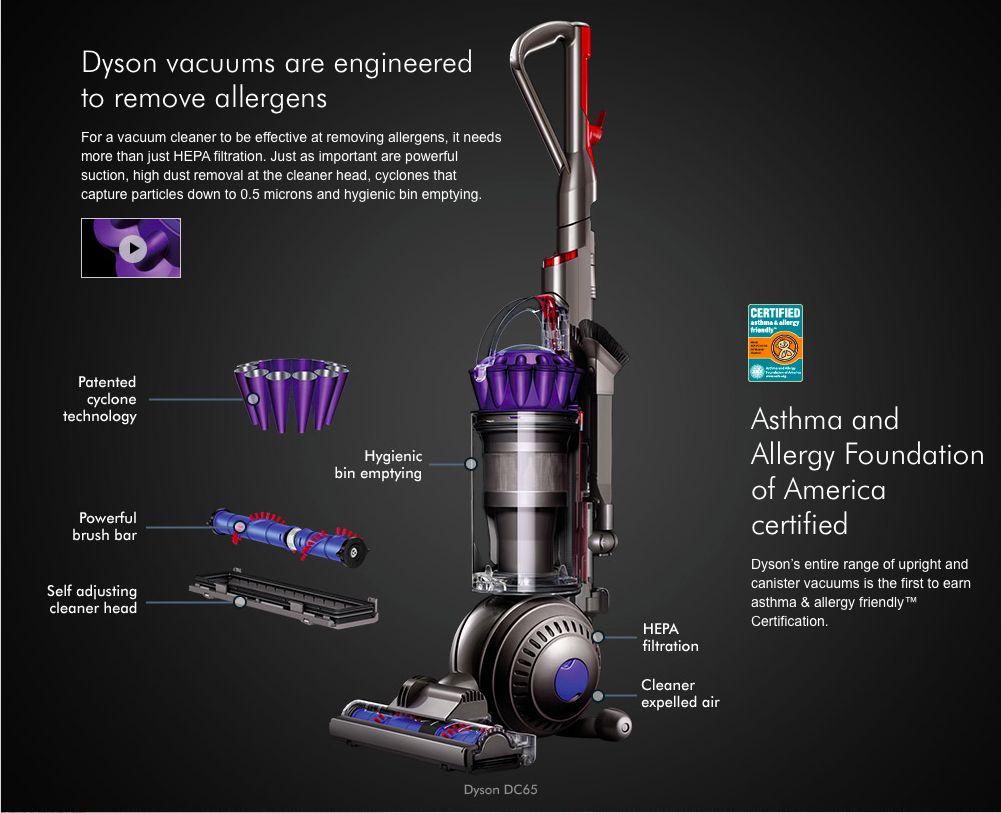 Vysavač Dyson - schema Foto: Dyson, oficiální zdroj