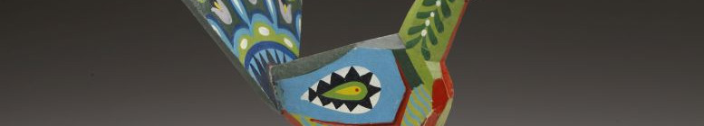 Dřevěná hračka páv Foto: Alžběta Kumstátová/NM, oficiální zdroj