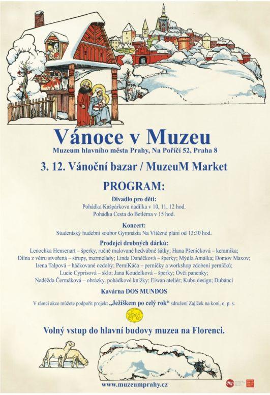 Muzeum Market: plakát detail Oficiální zdroj: MHMP