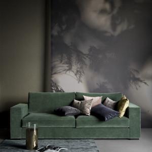 Sofa Cenova zelena lesk BoConcept