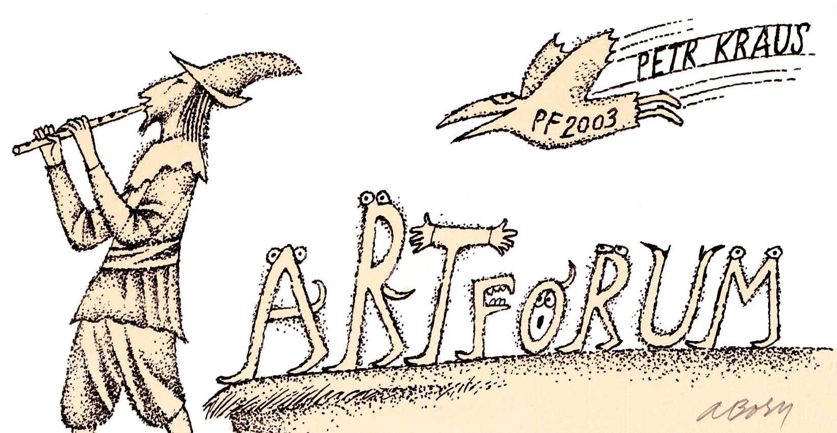 Adolf Born: PF 2003 Oficiální zdroj: ArtFrum