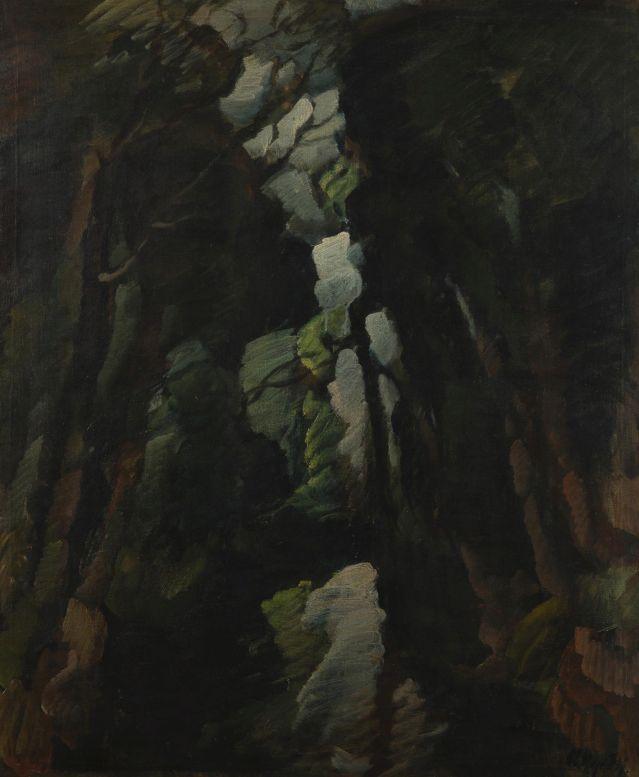 Otakar Nejedlý: Skalní strž, kolem 1920 Foto: archiv Dorotheum