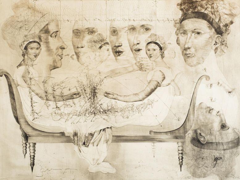 Jiří Anderle: Madame Récamier, 1979 Foto: archiv Dorotheum