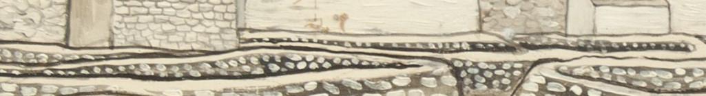 Jan Zrzavý: Pole na Ile de Sein II. 1934 (detail) Foto: archiv Dorotheum