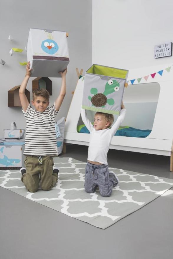Krychlový pořadač Lässig Toy Cube Storage  Foto: Babypoint, oficiální zdroj