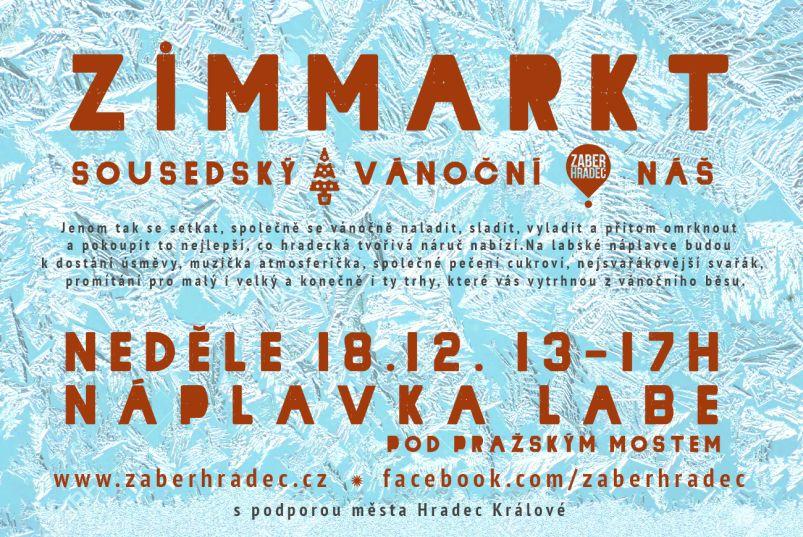 Zimmarkt- plakát Oficiální zdroj: Zaber Hradec