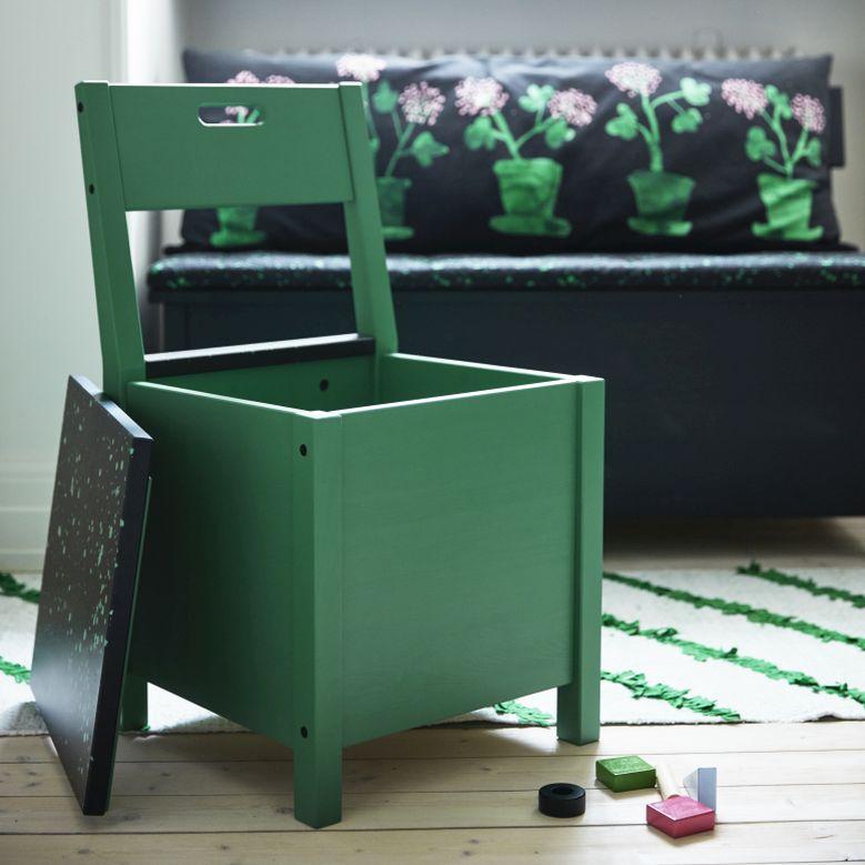 Židle s úložným prostorem SÄLLSKAP Foto: IKEA, oficiální zdroj