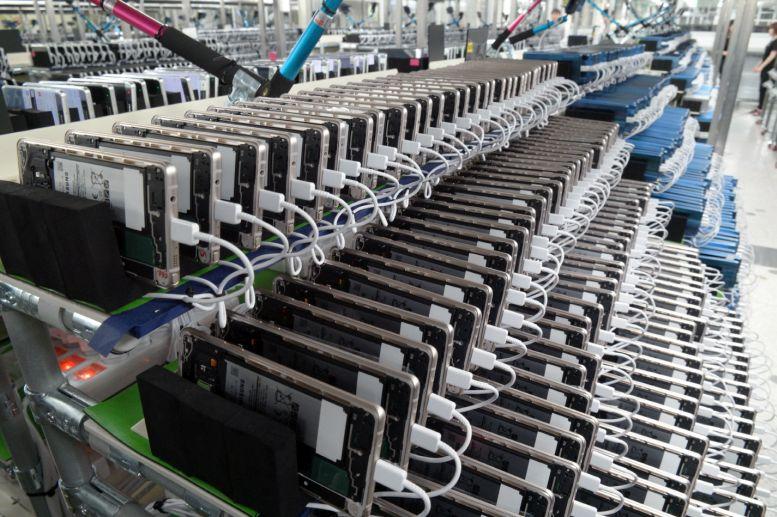 Testování mobilů Galaxy Note 7 Foto: Samsung, oficiální zdroj