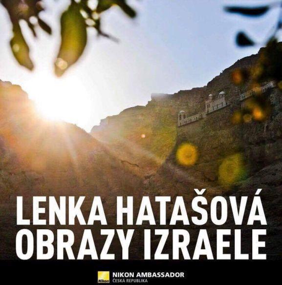 Lenka Hatašová: Obrazy izraele - plakát Foto: ©Lenka Hrašová/Guideline, oficiální zdroj