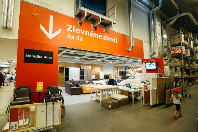 IKEA - Oddělení zlevněného zboží Foto: © 2015, Martin Mal/IKEA, oficiální zdroj